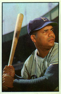1953 Bowman Color Roy Campanella #46 Baseball Card
