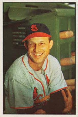 1953 Bowman Color Stan Musial #32 Baseball Card