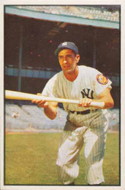 1953 Bowman Color Phil Rizzuto #9 Baseball Card