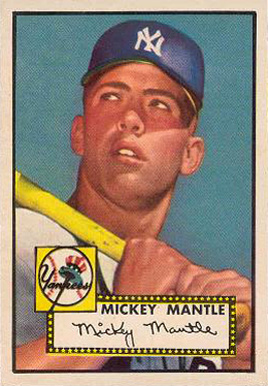 1952 Topps Mickey Mantle #311 Baseball Card