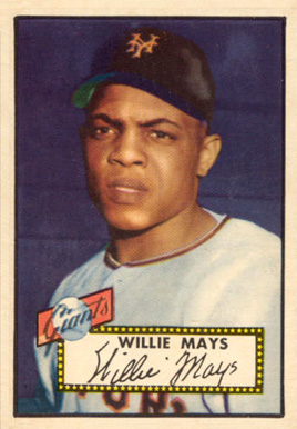 1952 Topps Willie Mays #261 Baseball Card