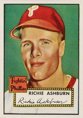 1952 Topps Richie Ashburn #216 Baseball Card