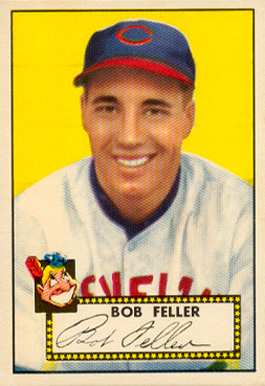 1952 Topps Bob Feller #88 Baseball Card
