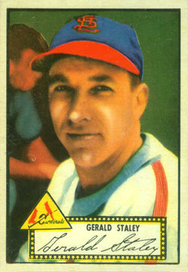 1952 Topps Gerry Staley #79 Baseball Card
