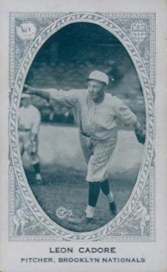 1922 American Caramel--Series of 240 Leon Cadore #22 Baseball Card