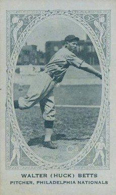 1922 American Caramel--Series of 240 Huck Betts #14 Baseball Card