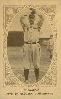 1922 American Caramel--Series of 240 Jim Bagby #5 Baseball Card