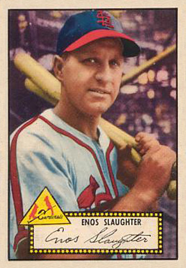 1952 Topps Enos Slaughter #65 Baseball Card