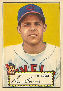 1952 Topps Ray Boone #55b Baseball Card