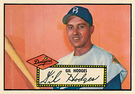 1952 Topps Gil Hodges #36b Baseball Card