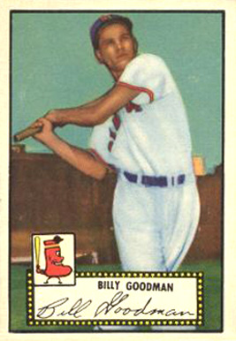 1952 Topps Billy Goodman #23b Baseball Card