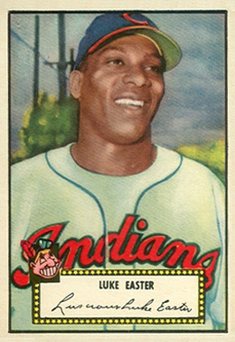 1952 Topps Luke Easter #24 Baseball Card