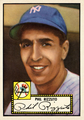 1952 Topps Phil Rizzuto #11b Baseball Card