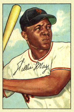 1952 Bowman Willie Mays #218 Baseball Card