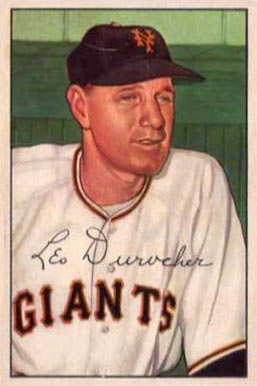 1952 Bowman Leo Durocher #146 Baseball Card