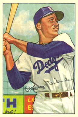 1952 Bowman Duke Snider #116 Baseball Card