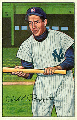1952 Bowman Phil Rizzuto #52 Baseball Card