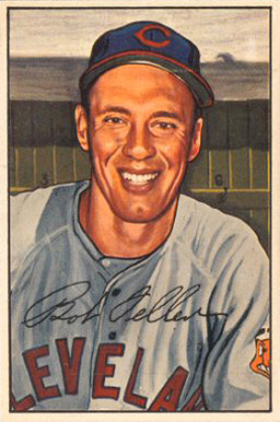 1952 Bowman Bob Feller #43 Baseball Card