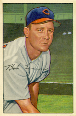 1952 Bowman Bob Lemon #23 Baseball Card