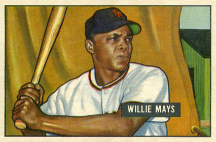 1951 Bowman Willie Mays #305 Baseball Card