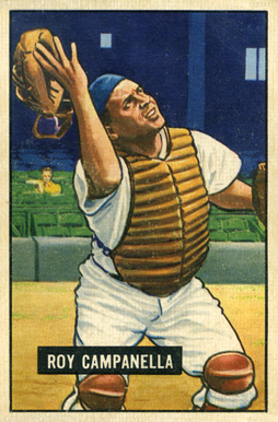 1951 Bowman Roy Campanella #31 Baseball Card