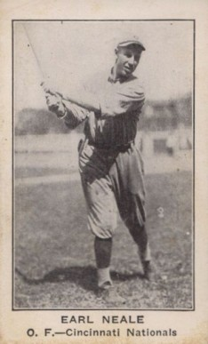1922 American Caramel--Series of 120 Earl Neale #80 Baseball Card
