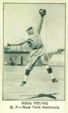 1922 American Caramel--Series of 120 Ross Youngs #139 Baseball Card