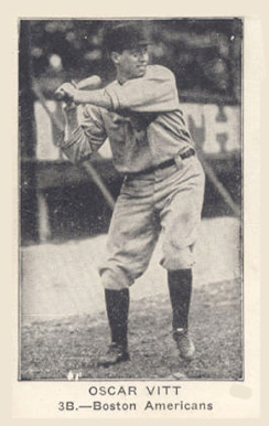 1922 American Caramel--Series of 120 Oscar Vitt #130 Baseball Card