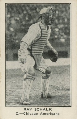 1922 American Caramel--Series of 120 Ray Schalk #105 Baseball Card