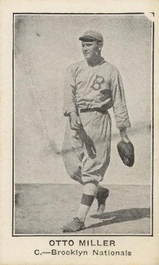 1922 American Caramel--Series of 120 Otto Miller #75 Baseball Card