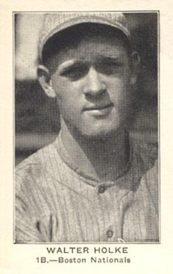 1922 American Caramel--Series of 120 Walter Holke #48 Baseball Card