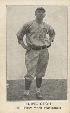 1922 American Caramel--Series of 120 Heinie Groh #42 Baseball Card