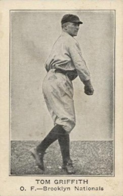 1922 American Caramel--Series of 120 Tom Griffith #40 Baseball Card