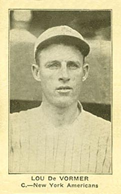 1922 American Caramel--Series of 120 Lou DeVormer #23 Baseball Card