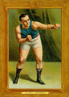 1910 Turkey Reds James Jeffries #55 Boxing & Other Card
