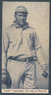 1910 1910 E-UNC Candy Cy Young #6 Baseball Card