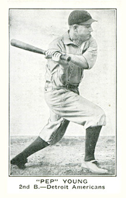 1921 American Caramel--Series of 80 Pep Young #135 Baseball Card
