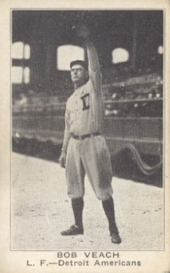 1921 American Caramel--Series of 80 Bob Veach #125 Baseball Card