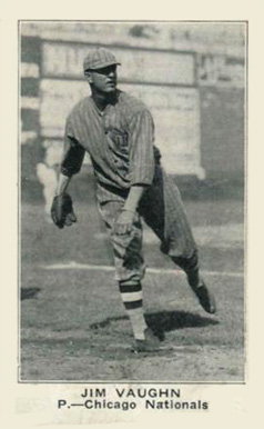 1921 American Caramel--Series of 80 Jim Vaughn #124 Baseball Card