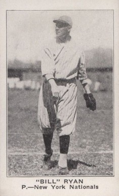 "1921 American Caramel--Series of 80 ""Bill"" Ryan #97 Baseball Card"