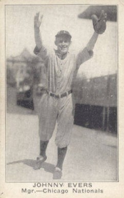 1921 American Caramel--Series of 80 Johnny Evers #27 Baseball Card