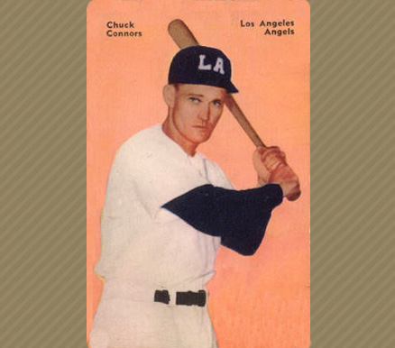 Chuck Connors Baseball Cards