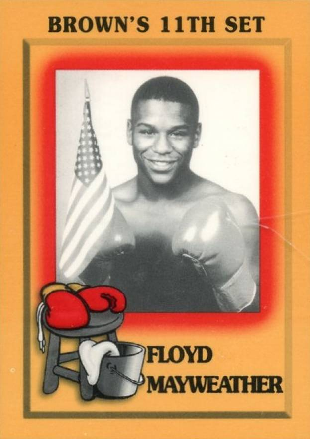 1997 Brown's Boxing Floyd Mayweather Jr. #51 Boxing & Other Card
