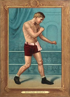 1910 Turkey Reds Battling Hurley #71 Boxing & Other Card