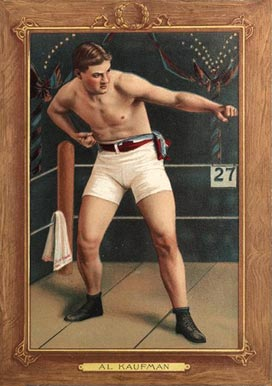 1910 Turkey Reds AL Kaufman #73 Boxing & Other Card