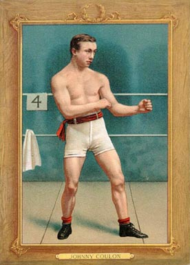 1910 Turkey Reds Johnny Coulon #54 Boxing & Other Card