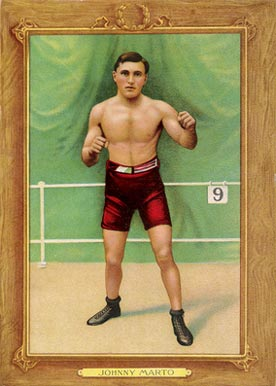 1910 Turkey Reds Johnny Marto #61 Boxing & Other Card