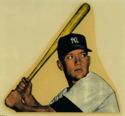 1956 Mac Boy Decal Mickey Mantle Baseball Vcp Price Guide