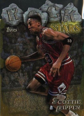 1997 Topps Rock Stars Scottie Pippen #20 Basketball Card