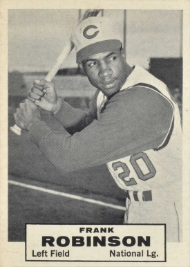 1961 Topps Dice Game Frank Robinson #15 Baseball Card